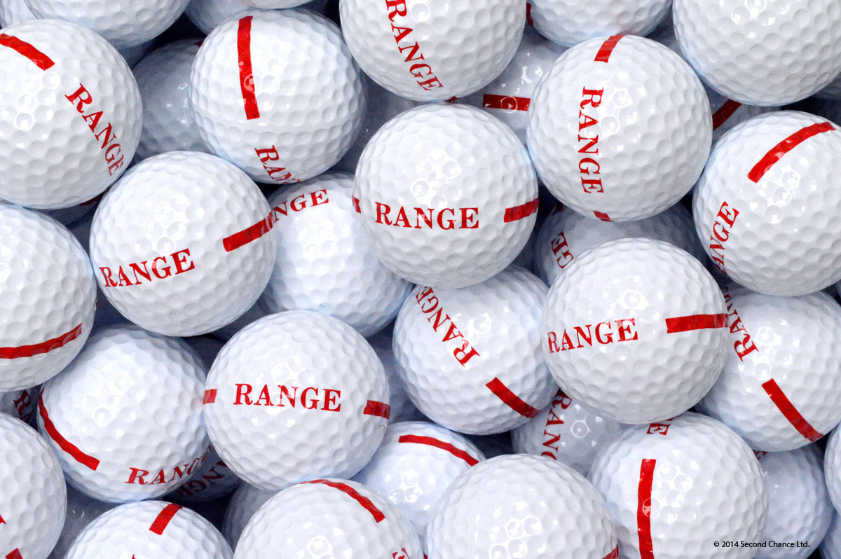 1 Piece White - limited distance range balls
