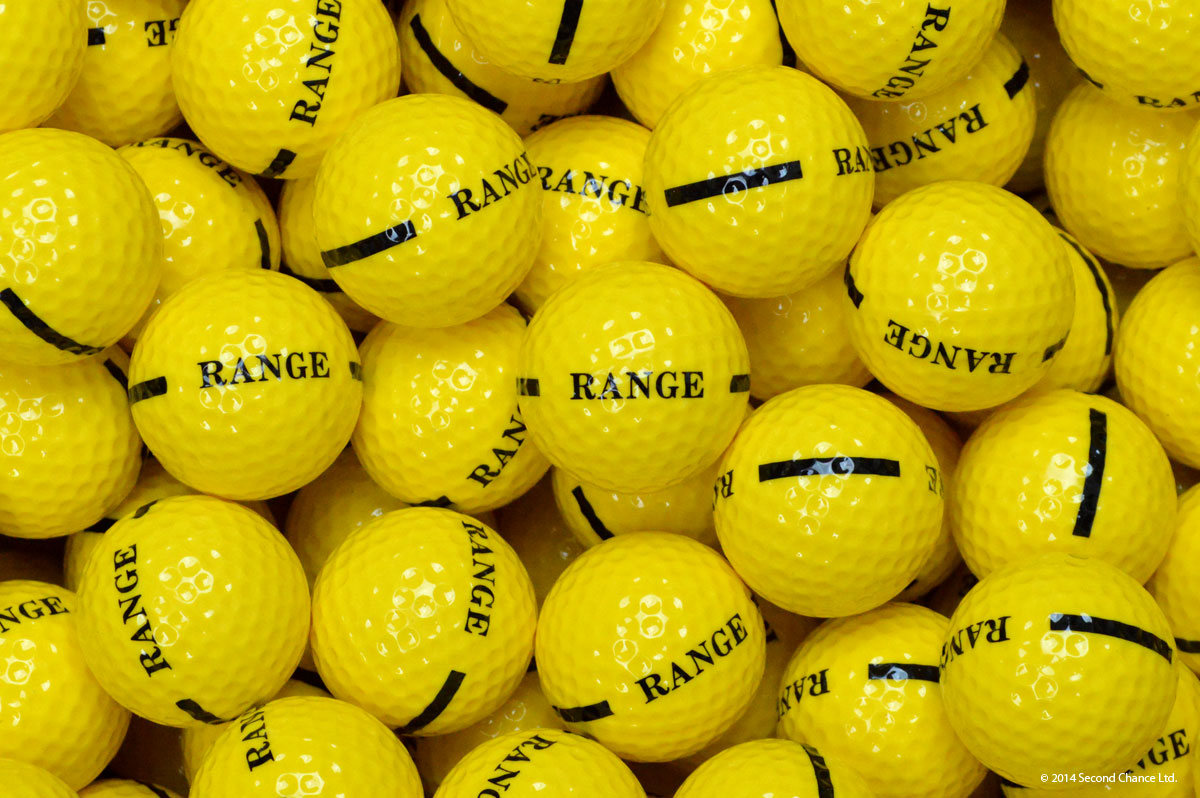 1 Piece Yellow - limited distance range balls
