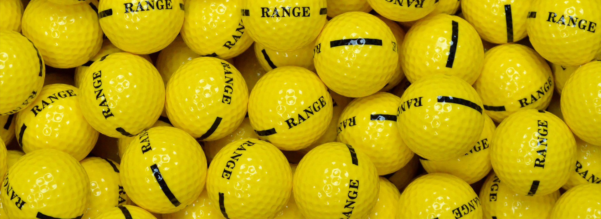 1 Piece Yellow Golf Balls