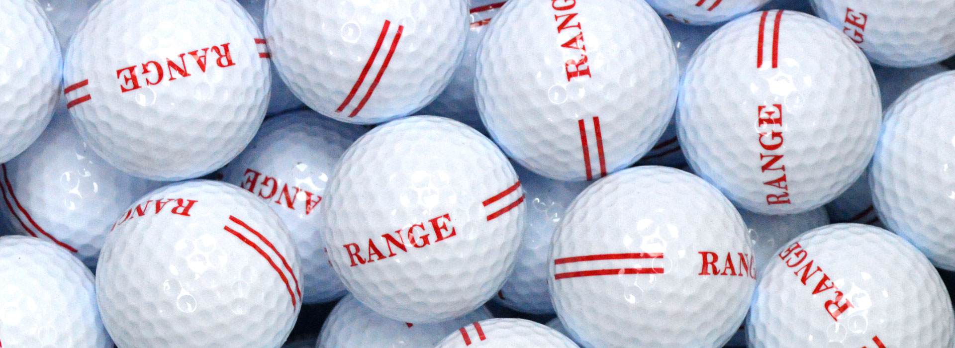 2 Piece White Golf Balls