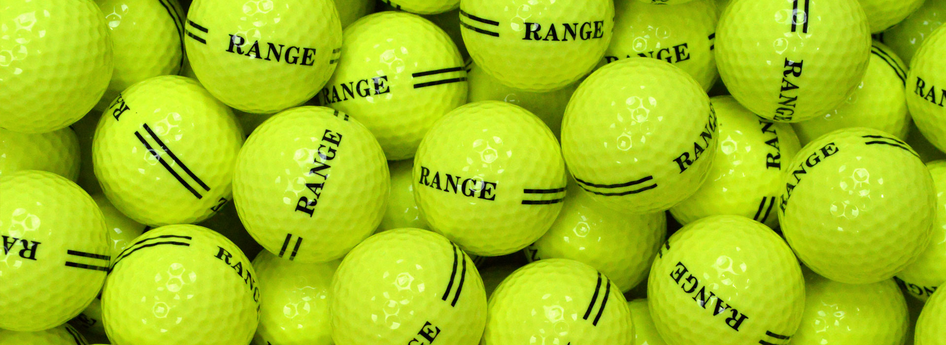 2 Piece Yellow Golf Balls
