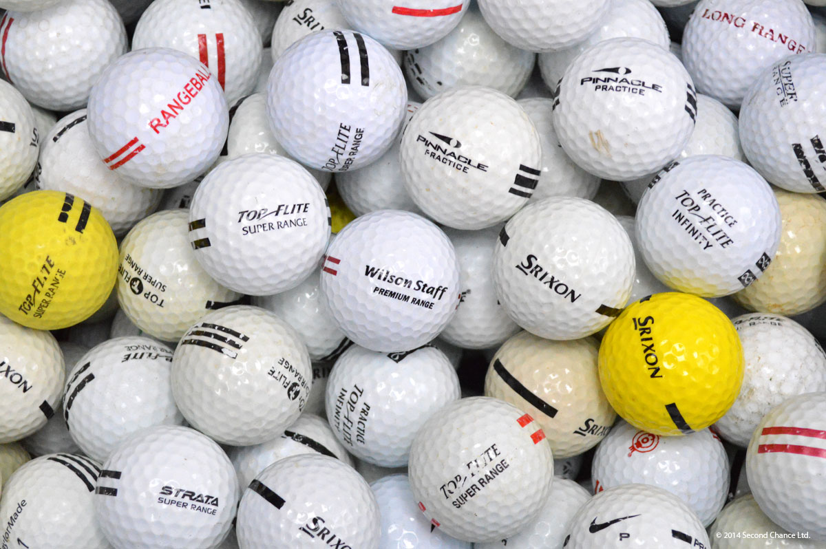 Mixed Used Range Golf Balls